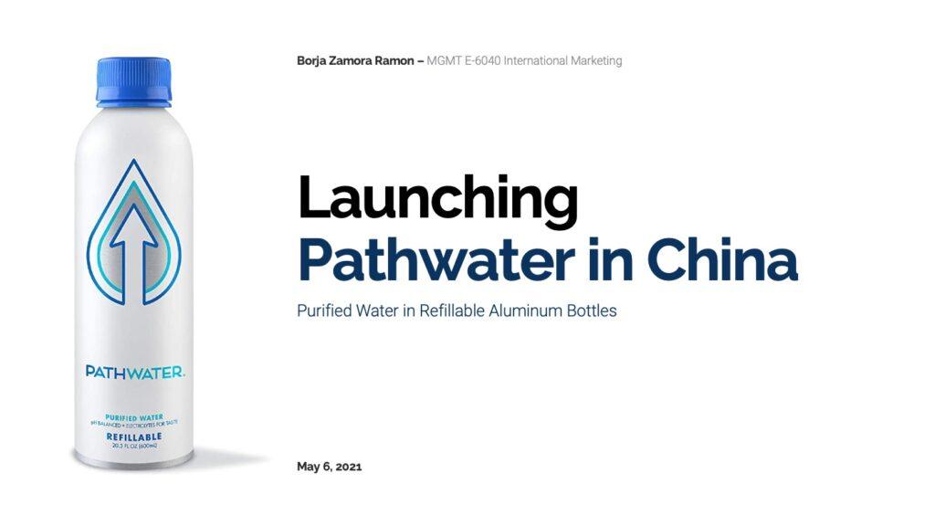 Launching 'Pathwater' in China-1